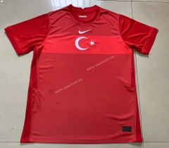 2021-2022 Turkey Home Red Thailand Soccer Jersey AAA-803