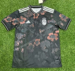 Classic version 2021-2022 Juventus FC Black Thailand Soccer Jersey AAA-407