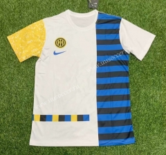Special Version 2021-2022 Inter Milan Blue & White Thailand Soccer Jersey AAA-407