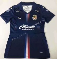 2021-22 Chivas Rayadas 2rd Away Royal Blue Female Thailand Soccer Jersey-912