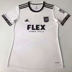 2021-22 Los Angeles Away White  Female Thailand Soccer Jersey-912