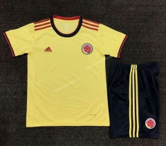 2021-2022 Colombia Yellow Soccer Uniform