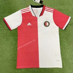 2021-22 Feyenoord Rotterdam Home Red & White Thailand Soccer Jersey AAA-403