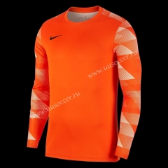 Nike Orange Pad printing Cotton Long sleeve
