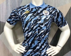 2021-2022 Manchester City Black& Blue Thailand Polo Shirts-403