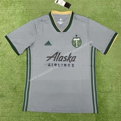 Special edition 2021-2022 Portland Timbers Gray Thailand Soccer Jersey AAA-403