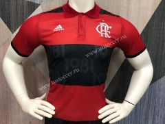 2021-2022 Flamengo Black &Red Thailand Polo -403