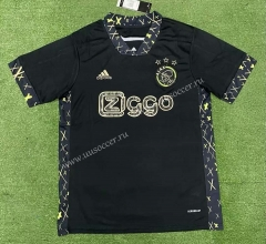 Special Version 2021-22 Ajax Black Thailand Soccer Jersey AAA-403