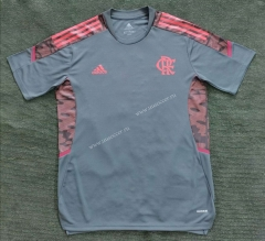 2021-2022 CR Flamengo Light Gray Thailand Soccer Training Jersey-908