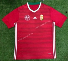 2021-2022 Hungary Home Red Thailand Soccer Jersey-416