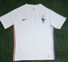2021-2022 France Away White Thailand Soccer Jersey AAA-416