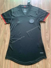2021-2022 Germany Away Black Female Thailand Soccer Jersey