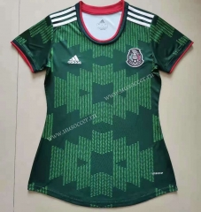 2021-22 Mexico Green Female Thailand Soccer Jersey-912