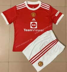 2021-22 Gaming Edition Manited United Home Red  Soccer Uniform