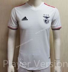 Player version 2021-2022 Benfica Away White Thailand Soccer Jersey AAA