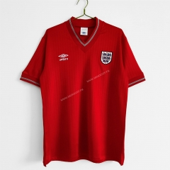 84-87 Retro Version England Away Red Thailand Soccer Jersey AAA-C1046