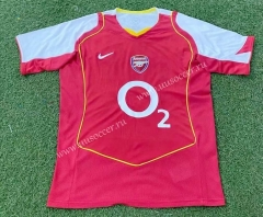 04-05 Retro Version Arsenal Home Red Thailand Soccer Jersey AAA-503