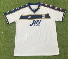 00-02 UD Las Palmas Away White Thailand Soccer Jersey AAA-503