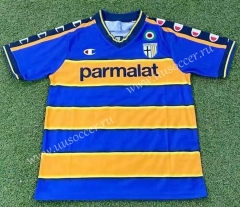 02-03 UD Las Palmas Home Blue&Yellow Thailand Soccer Jersey AAA-503