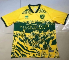 2021-2022 Norwich City Home Yellow Thailand Soccer Jersey AAA-407