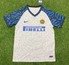 Concept Edition 2021-2022 Inter Milan  Away White Thailand Soccer Jersey AAA-407