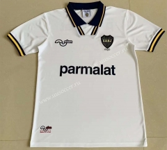 1994 Retro Version Boca Juniors Away White Thailand Soccer Jersey-AY