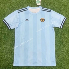 2021-2022 Rangers Away Light Blue Thailand Soccer Jersey AAA-407