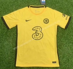 2021-22 Chelsea Away Yellow Thailand Soccer Jersey AAA-407