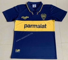 1994 Retro Version Boca Juniors Home Blue Thailand Soccer Jersey-AY