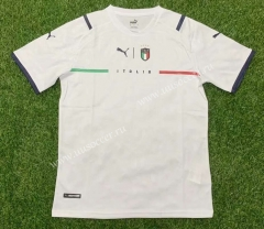 2021-2022  Italy  Away White Thailand Soccer Jersey AAA