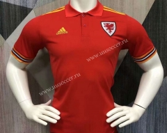 2021-2022 Wales Red Thailand Polo-403
