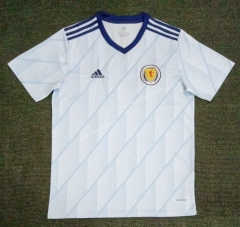 2021-2022 Scotland Away White Thailand Soccer Jersey AAA-416
