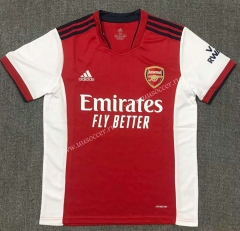 2021-2022 Arsenal Home Red Thailand Soccer Jersey AAA-503