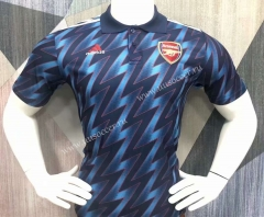 2021-2022 Arsenal Blue Thailand Polo Shirts-403