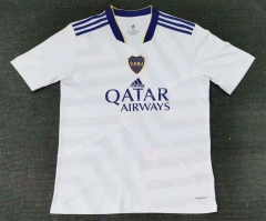 2021-2022 Boca Juniors Away White Thailand Soccer Jersey-416