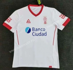 2021-2022 Club Atletico Huracan Home  White Thailand Soccer Jersey-416
