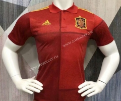 2021-2022 Spain Red Thailand Polo Shirts-403