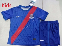 2021-2022 Shanghai Shenhua Home  Blue Youth/Kids Soccer Uniform
