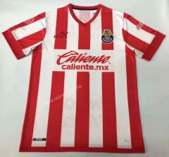 115th anniversary Deportivo Guadalajara Home Red & White Thailand Soccer Jersey AAA-912