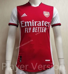 Player version Arsenal Home Red Thailand Soccer Jersey AAA-807