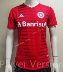 Player Version 2021-22 Brazil SC Internacional Home Red Thailand Soccer Jersey AAA-807