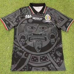 Retro Version 1998 Mexico Black Thailand Soccer Jersey AAA-503