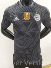 Player Version 2021-22 Algeria Dark gray Thailand Soccer Jersey AAA