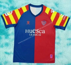 Commemorative Edition SD Huesca  Red & Blue Thailand Soccer Jersey AAA-HR