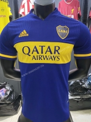 Player version 2021-2022 Boca Juniors Home Blue Thailand Soccer Jersey-KS
