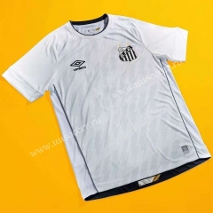 2021-2022 Santos FC Home White Thailand Soccer Jersey AAA-802